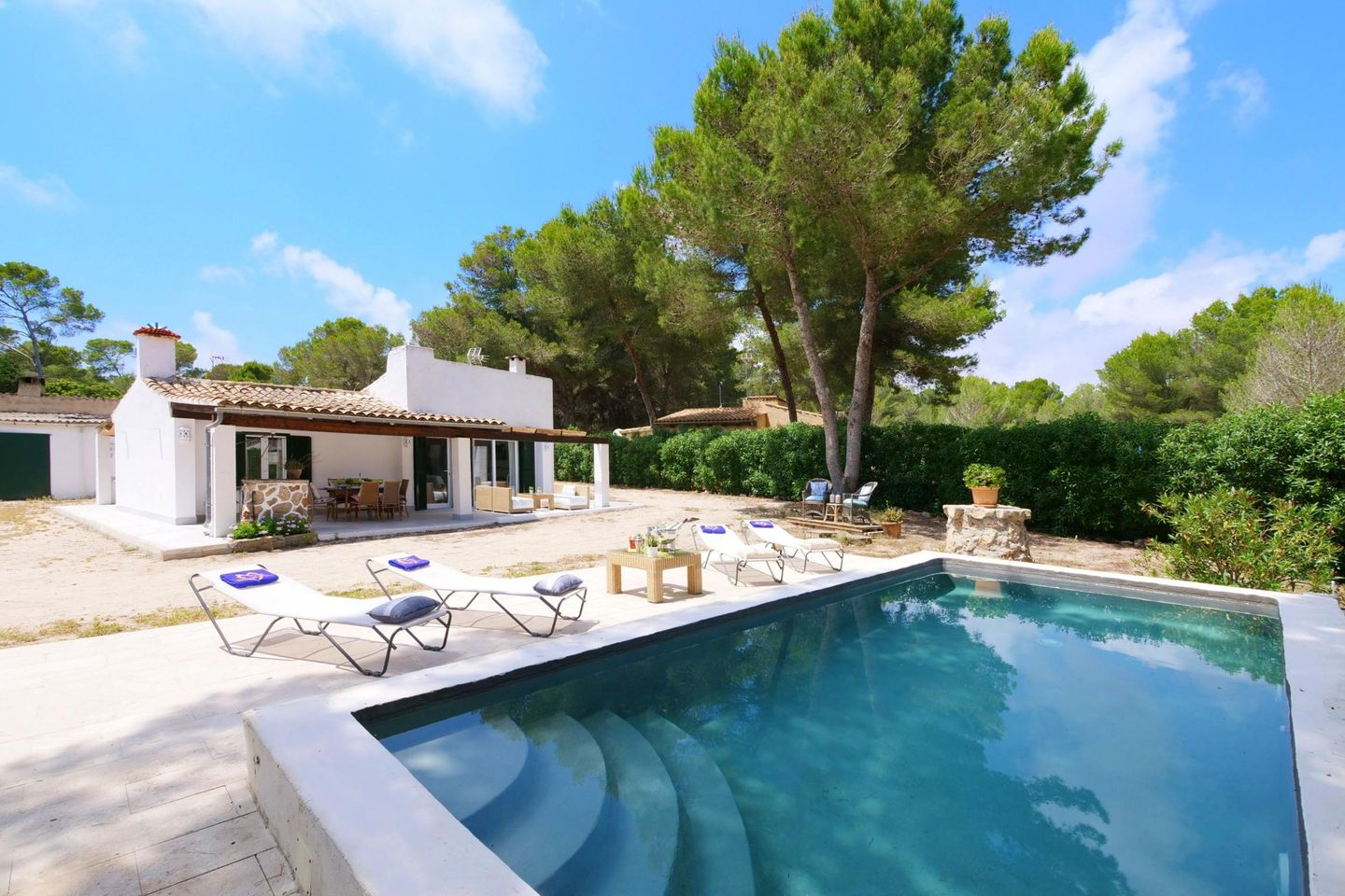 Casa Es Trenc In Campos Mallorca Southeast For 4 Persons To Rent